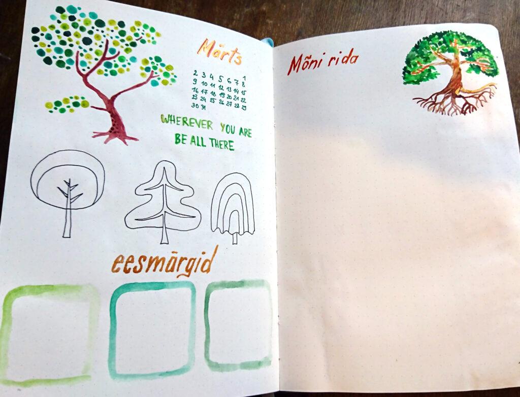 R.K.Topkin märgipäevik kuukalender