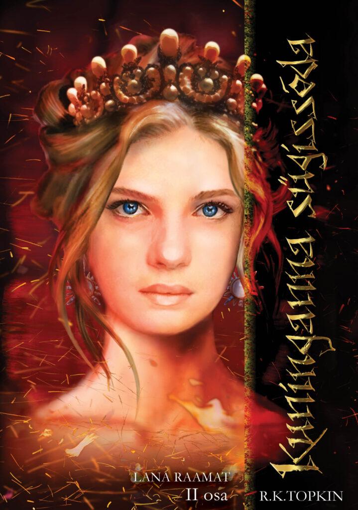 Kuninganna sügissõda, R.K.Topkin kaanepilt